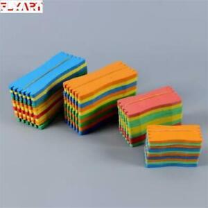 20Pcs-EVA-Foam-Fishing-Line-Plate-Winding-Line-Board-Wire-Leader-Swivel-Colorfu