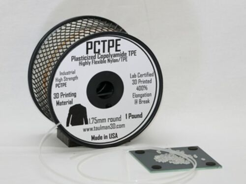 Taulman PCTPE Nylon and TPE Co-Polymer Filament 1.75mm