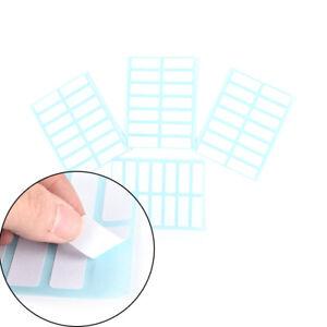12sheet-Self-Adhesive-Sticky-White-Label-WritableName-Sticker-Blank-Note-LabelAT