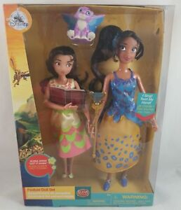 New-Disney-Store-Elena-Of-Avalor-amp-Isabelle-Deluxe-Singing-Doll-Set-2-PK