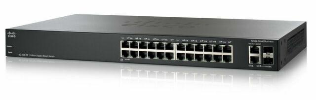 NEW Cisco 26-Port Gigabit PoE Ethernet Smart Switch