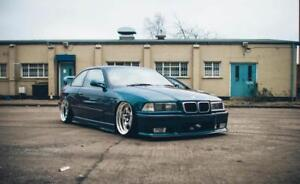 BMW-e36-Coupe-Felony-FRONT-and-REAR-overfenders-felony-drift-stanc-daily