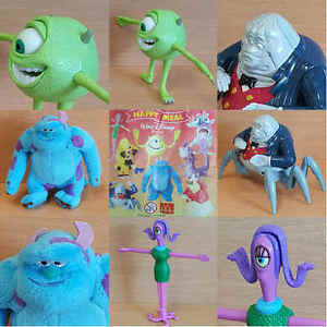 McDonalds Happy Meal Toy 2002 Disney Pixar Monsters Inc Figure Toys - Various