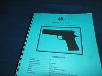 Llama Max-i Cal, 45acp, Automatic Pistol Manual, 11 Pages