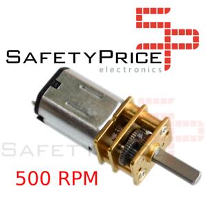 Motor-N20-12V-DC-500-rpm-Smart-car-Robot-Arduino-UNO-Robotica-Ventilador-SP