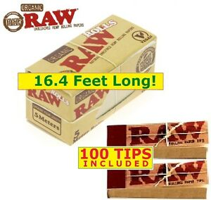 Raw Organic Hemp Roll 16 4 Of 1 25 Natural Rolling Paper