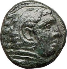Alexander III the Great 336BC Ancient Greek Coin HERCULES Bow Club i26880
