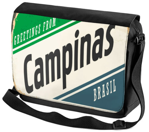 CAPES SAC A BANDOULIERE nostalgie VILLE Campinas Brésil Imprimé