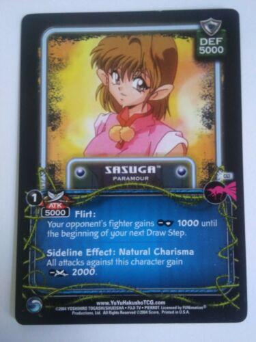 Yu Yu Hakusho TCG CCG Sasuga C63 Betrayal Card