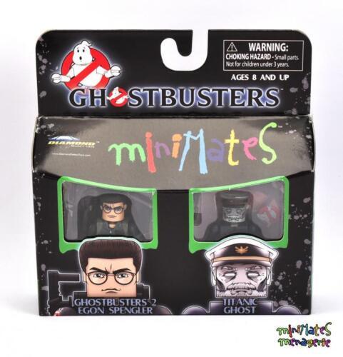 Ghostbusters Minimates TRU Wave 3 GB2 Egon Spengler /& Titanic Ghost
