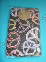 Pottery Barn Teen Dorm College Beanbag Slipcover Cover Coffee Peace Out Large