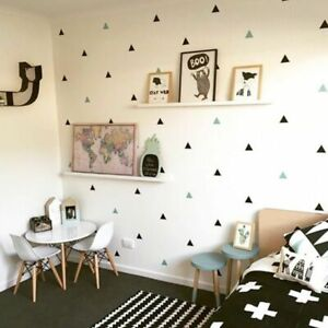 Baby-Room-Little-Triangles-Wall-Sticker-For-Kids-Room-Decorative-Stickers-Decals