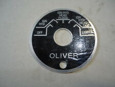 New Ignition Switch Plate For Oliver Super 88 66 77 99 Tractor 1k1274a