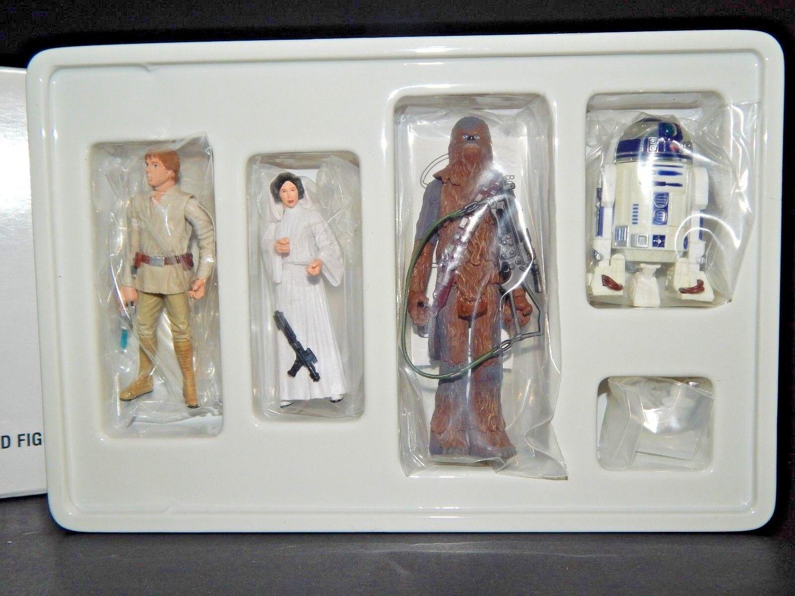 STAR WARS POTF Early Bird Figure set set set Luke Leia R2D2 Chewbacca e8f0da