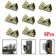8pcs Adjustable Magnetic Welding Clamps V Type Pads Fixture Holder Strong Welder