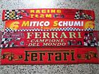 a1 lotto 4 sciarpe F1 FERRARI michael schumacher scarf bufanda car formula 1 lot