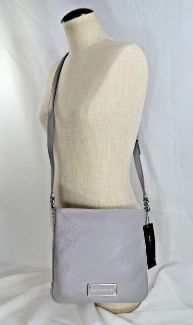 121da3fee0454 Marc by Marc Jacobs Sia Leather Crossbody Bag Storm Cloud M0009429 ...