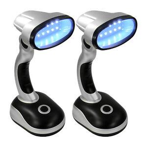 2x-LED-Tischlampe-Schreibtisch-Licht-Bueroleuchte-Arbeit-Lese-Leuchte-Batterie