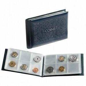 Album-de-poche-pour-Ranger-48-Pieces-de-Monnaie-de-Collection