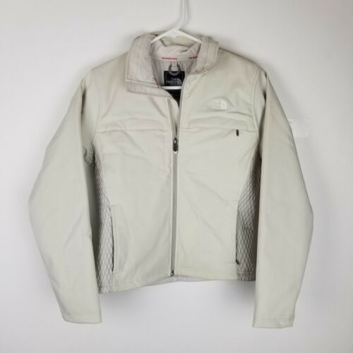 Größe Small Collared Jacket North Frauen Beige Zip Moxie Face The Quited Mirco Up FORI1xqwn