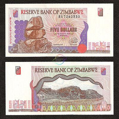 Zimbabwe 20 Dollars P-7 UNC 1997