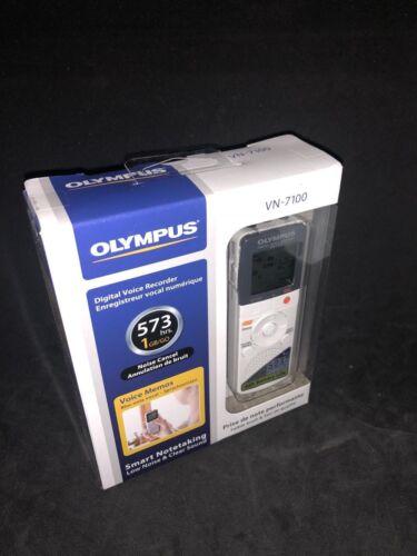 NEW Olympus VN-7100 Digital Voice Recorder 1GB White