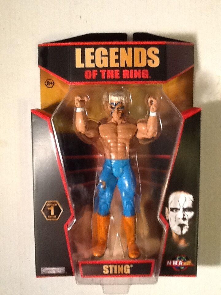 Sting TNA Wrestling Legends of the Ring 2010 Series 1 Jakks Pacific