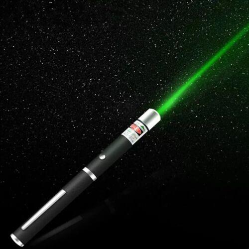 GREEN Laser Pointer Pen Visable Beam Light Lazer = Batteries NOT Included