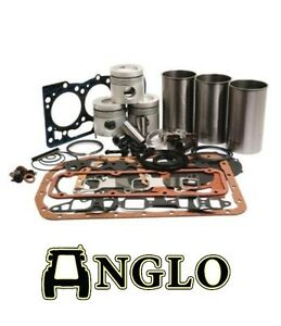 ford 4600 4610 4630 tractor engine rebuild kit with liners new overhaul ebay