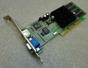 64MB Winfast GeForce2 MX64 Lr2853 PCB Rev:B AGP VGA / TV Carte Graphique Vidéo