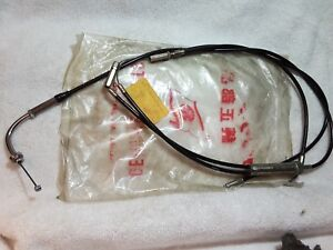 nos new oem kawasaki throttle control cable f9 f9b f9c. Black Bedroom Furniture Sets. Home Design Ideas