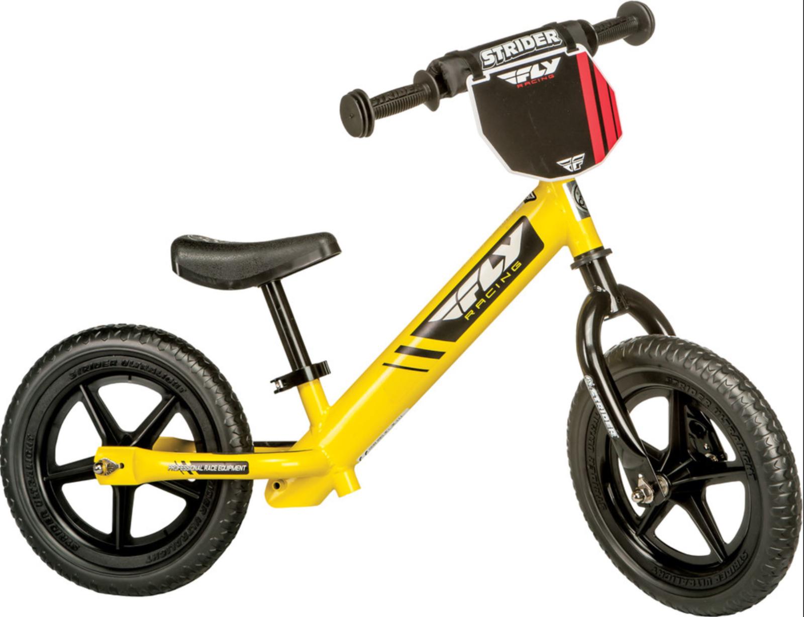 Nuevo Bicicleta De Balance Balance Balance Strider Fly Racing Amarillo b93465