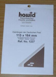 HAWID-SCHAUFIX-Block-MOUNTS-BLACK-Pack-of-10-115mm-x-164mm-Ref-No-1237