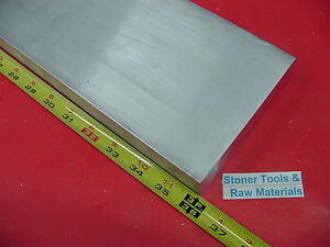 "1/2"" X 4"" ALUMINUM 6061 FLAT BAR 36"" long T6511 SOLID .500"" PLATE NEW Mill Stock"