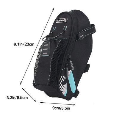 Roswheel Road MTB Bike Saddles Bag Rear Seat Bag with Water Bottle Holder