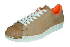 c75267866c05 Image is loading adidas-Originals-Superstar-80s-Clean-Mens-Leather-Sneakers-
