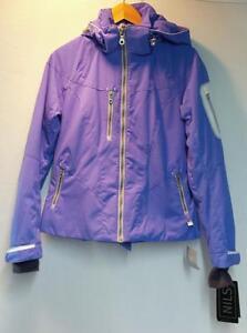 White Kristina New Size 12 Jacket Nils Silver Winter Iris Snow Ski Women's 0FBq5g