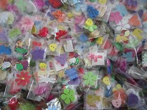 X-40-MINI-BAGS-OF-EMBELLISHMENTS-FOR-CARD-MAKING-SCRAPBOOKING-REF12d