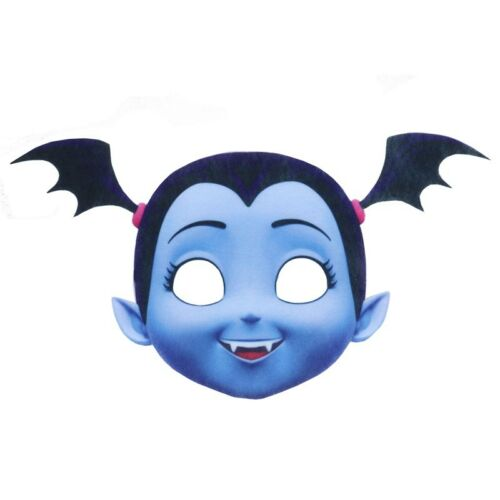 Kids Girls Vampirina Costume Cosplay Mask Headband Fancy Dress Party Props New