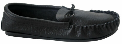 Mens Black or Tan Leather moccasins Slippers Mokkers Shoes Made In UK Sizes 6-12