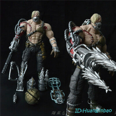 Resident Evil Boss Ustanak Figurine Polymer Clay Figure Model 34cm
