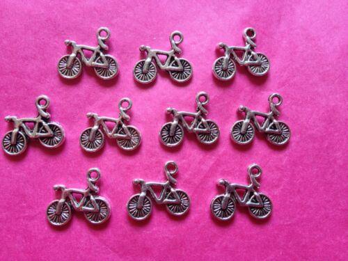 10 por paquete Bici//Ciclo De Plata Tibetana//encantos de Bicicleta