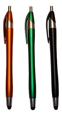 10x Colorato 2in1 Penna A Sfera Stylus Pen Cellulare Tablet Input Penna Scrittura- Per Garantire Una Trasmissione Uniforme
