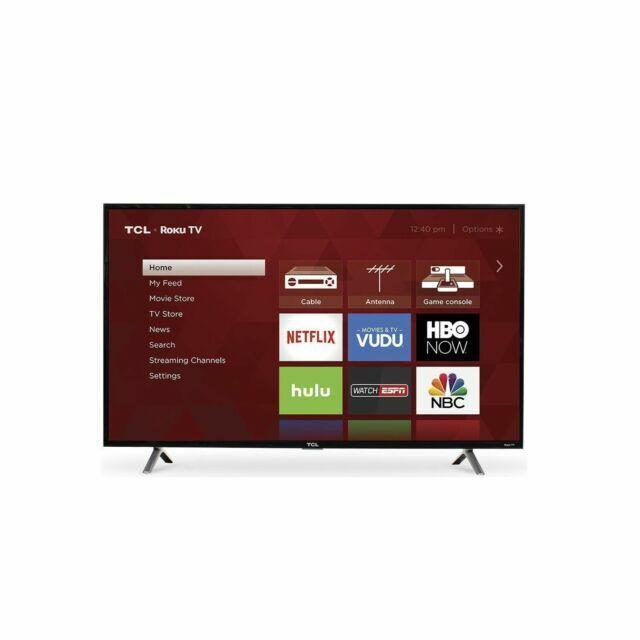 "TCL - 49"" Class - LED - 3 Series - 1080p - Smart - HDTV Roku"
