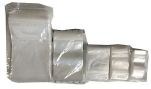 500-SMALL-2-25-034-x-3-034-CLEAR-GRIP-SEAL-GRIPSEAL-PLASTIC-RESEALABLE-BAGS-FREE-POST