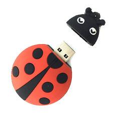 Simpatico coccinella forma animale 16GB Novità USB Flash Drive Memory Stick Gift