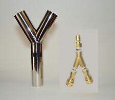 15 Vacuum Hose Amp 14 Solution Line Brass Splitter Carpet Cleaning Truckmount