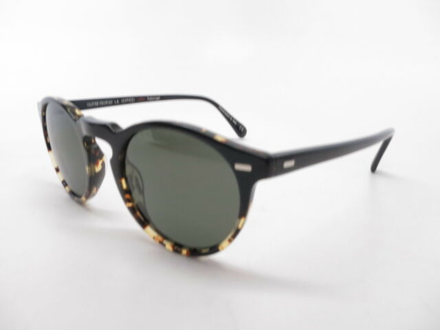 2584b630dfc3 Oliver Peoples 5217s Gregory Peck Sun Sunglasses 1178p1 Black 100 Authentic