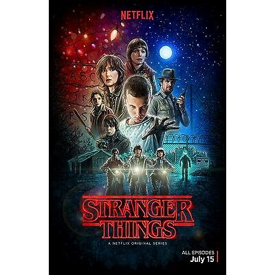 Stranger Things poster (a)  -  11 x 17 inches