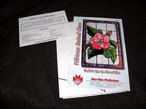 Unused Vtg Sewing Quilt Crafts Pattern By Bear Paws Hibiscus